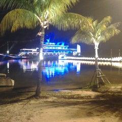 Photo taken at Danga Bay by Muhammad J. on 8/31/2012