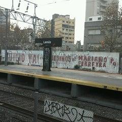 Photo taken at Estación Lanús [Línea Roca] by Majo B. on 6/15/2012