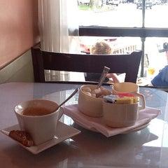 Photo taken at Luca's Mediterranean Cafe by Pamela G. on 8/4/2011
