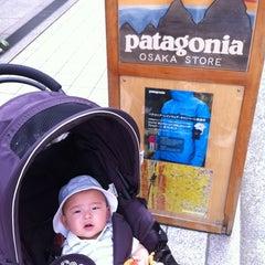 Photo taken at patagonia パタゴニア 大阪 by YZA on 4/29/2012