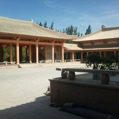 Photo taken at Silk Road Hotel Dunhuang by Ylva S. on 9/21/2011