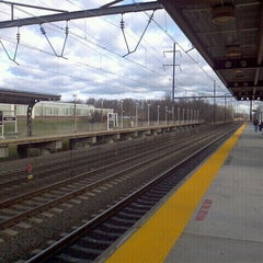 Photo taken at NJT - Hamilton Station (NEC) by Robert F. on 12/28/2011