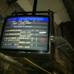 Photo taken at Gare de Bruxelles-Schuman / Station Brussel-Schuman by Arnaud K. on 6/18/2012
