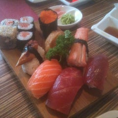 Photo taken at Nagoya Sushi & Grill by Peter T. on 7/17/2011
