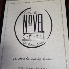 Photo taken at The Novel Cafe by Caitlin S. on 8/6/2012