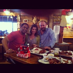 Photo taken at Hard Eight BBQ by Chris W. on 1/29/2012