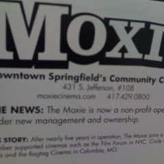 Photo taken at Moxie Cinema by Nonprofit Organizations on 8/29/2011