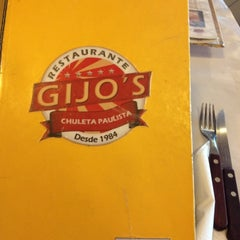 Photo taken at Gijo's by Rodolpho P. on 3/22/2012