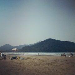 Photo taken at Praia Dura by Isadora P. on 9/8/2012