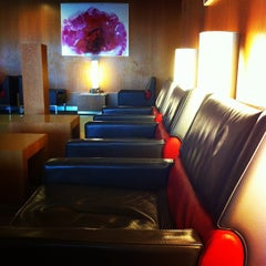 Photo taken at Air France Lounge by uem_ura on 10/29/2011