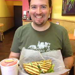 Photo taken at Tropical Smoothie Cafe by Stuart M. on 5/19/2012