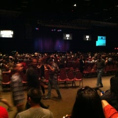Photo taken at Mark G. Etess Arena by Beth B. on 9/1/2012