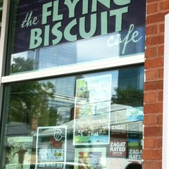 Photo taken at The Flying Biscuit Cafe by Desiree G. on 8/18/2012