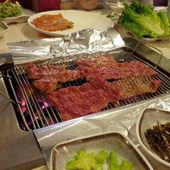 Photo taken at Korean Spring BBQ by Tom M. on 8/4/2012