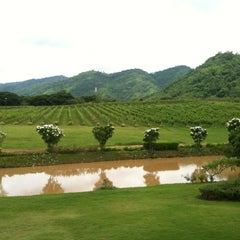 Photo taken at PB Valley Khao Yai Winery by Nutnaree T. on 7/6/2012