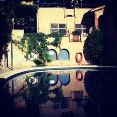Photo taken at La Grava Hotel by Mangel T. on 9/3/2012