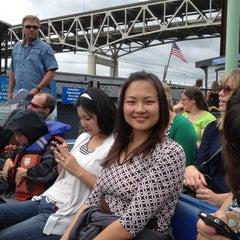 Photo taken at Willamette Jet Boat Tours by Troy K. on 7/27/2012