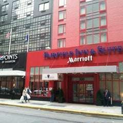 Photo taken at Fairfield Inn & Suites New York Manhattan/Times Square by Doug M. on 4/23/2012