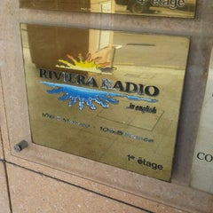 Photo taken at Riviera Radio by Iarla B. on 3/28/2012
