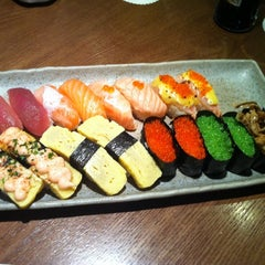 Photo taken at Sushi Zanmai by ng k. on 2/13/2012