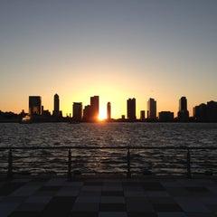 Photo taken at Pier 25 — Hudson River Park by Douglas W. on 4/2/2012