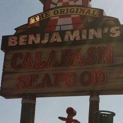 Photo taken at The Original Benjamin's Calabash Seafood by Earl N. on 4/11/2012
