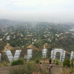 Photo taken at Hollywood Sign by Caroline on 7/13/2012