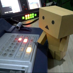 Photo taken at Master Control Room Studio 1 Lt. 4 Arek TV by Dayu P. on 3/22/2012