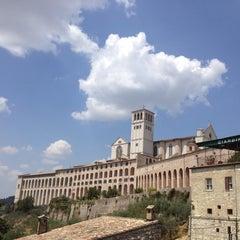Photo taken at Basilica di San Francesco by Tatiana B. on 7/6/2012
