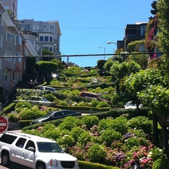 Photo taken at Lombard Street by Nicole M. on 6/9/2012