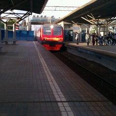 Photo taken at Лосиноостровская by Алина Б. on 6/1/2012