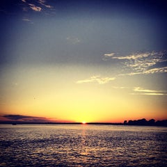Photo taken at Shelter Island South Ferry - Shelter Island Terminal by Joe M. on 8/26/2012