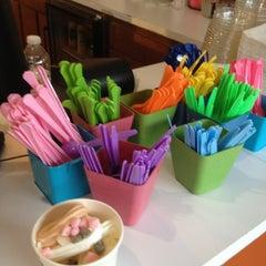 Photo taken at Mixx Frozen Yogurt by Christina K. on 5/17/2012