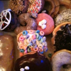 Photo taken at Voodoo Doughnut Too by Kyle A. on 5/22/2012