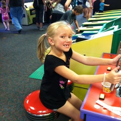 Photo taken at Chuck E. Cheese's by Tara on 8/4/2012