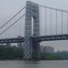 Photo taken at George Washington Bridge by Patrick S. on 5/5/2012