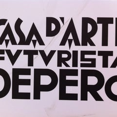 Photo taken at Casa d'Arte Futurista Fortunato Depero by Lilia L. on 5/20/2012