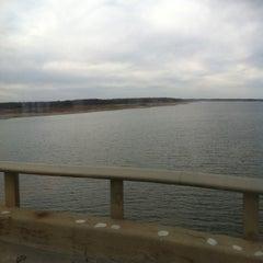 Photo taken at Mile Long Bridge by Lauren B. on 11/12/2011