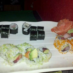 Photo taken at Sushi on Second by Melissa L. on 8/28/2011
