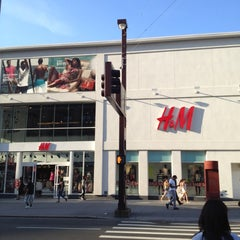 Photo taken at H&M by Manuel B. on 6/14/2012