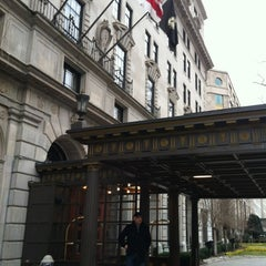 Photo taken at St. Regis Washington D.C. by Sari T. on 2/19/2012