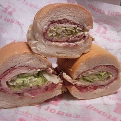 Photo taken at Jimmy John's by Tony N. on 10/4/2011