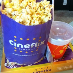 Photo taken at Cineflix Cinemas by Joiari on 8/14/2012