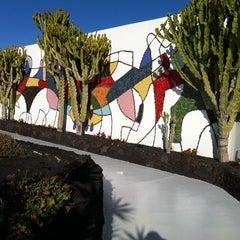 Photo taken at Fundación Cesar Manrique by Natalia Z. on 1/5/2012