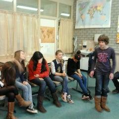 Photo taken at Maliebaan School by Rianne v. on 12/23/2011