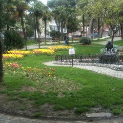 Photo taken at Doğancılar Parkı by Tules S. on 4/14/2012