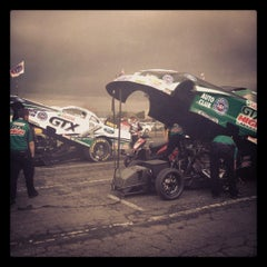 Photo taken at AAA Auto Club Raceway by aShlEY W. on 2/13/2012