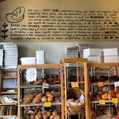 Photo taken at Arizmendi Bakery Panaderia & Pizzeria by Maksim I. on 7/18/2012