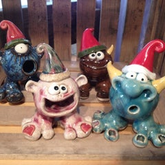 Photo taken at Claymonster Pottery At Sugarloaf by Cat on 11/20/2011