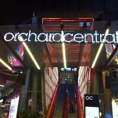 Photo taken at Orchard Central by Max H. on 8/8/2012